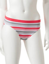 René Rofé Striped Seamless Bikini Panties
