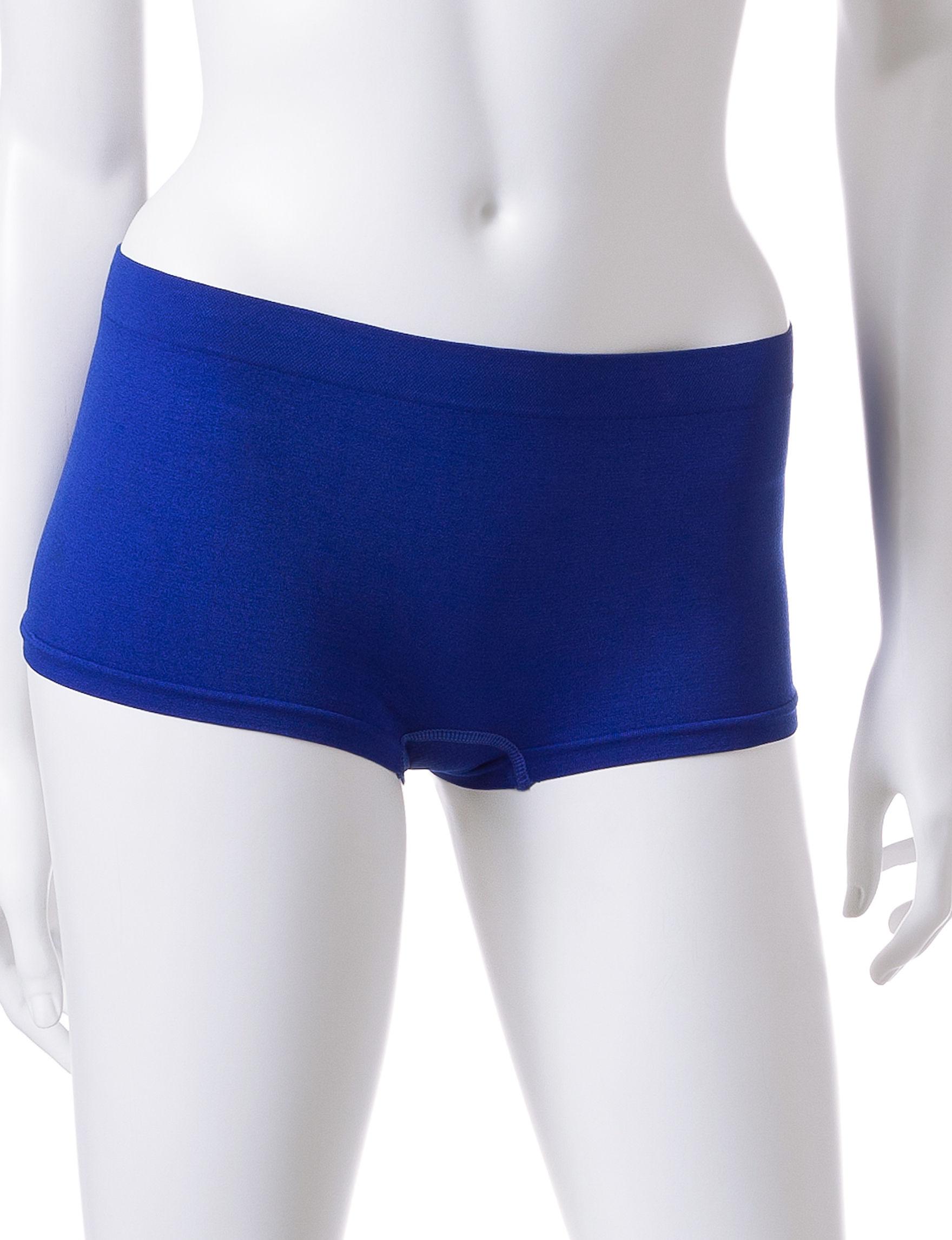 B Intimates Purple Multi Panties Boyshort
