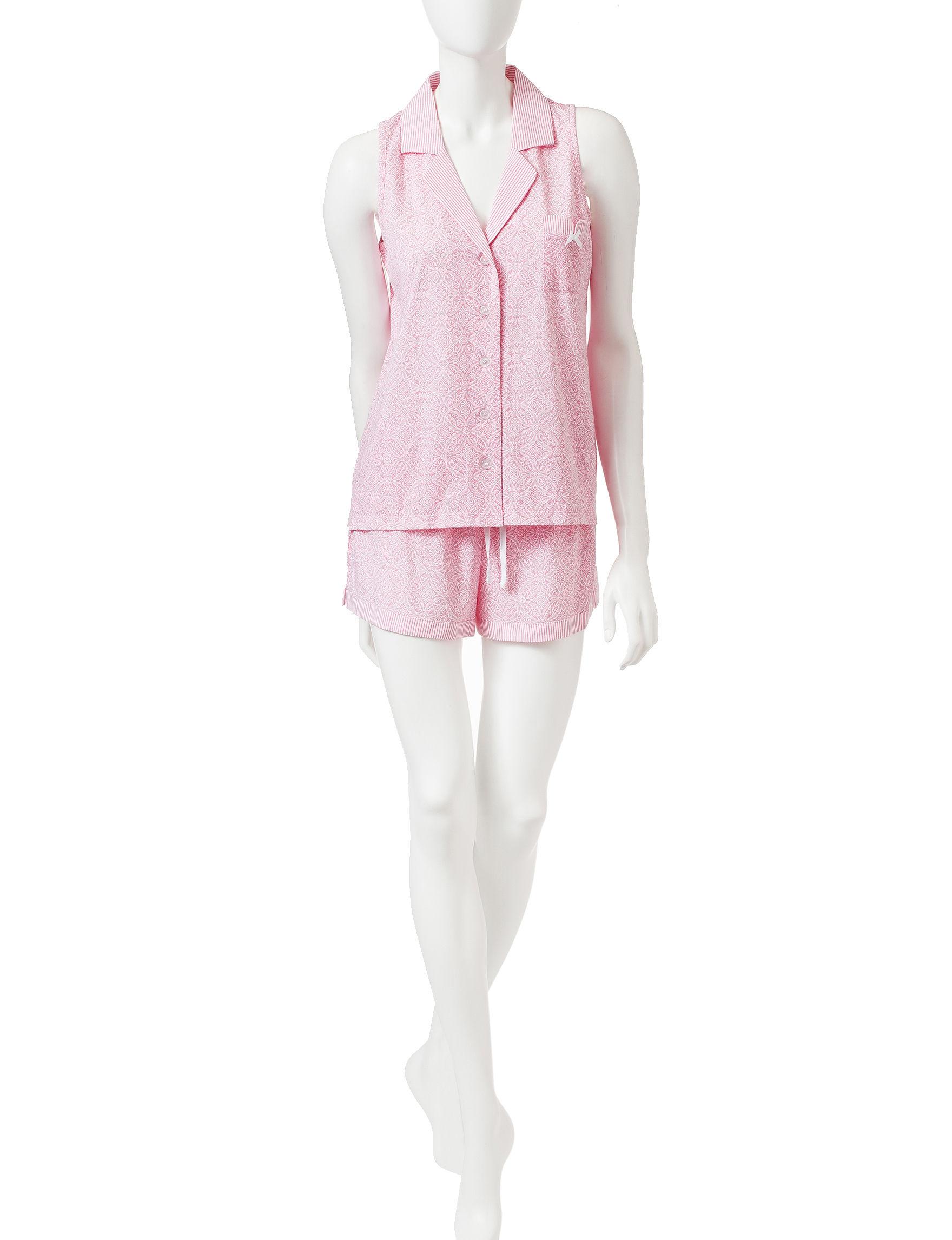 Laura Ashley Pink Pajama Sets