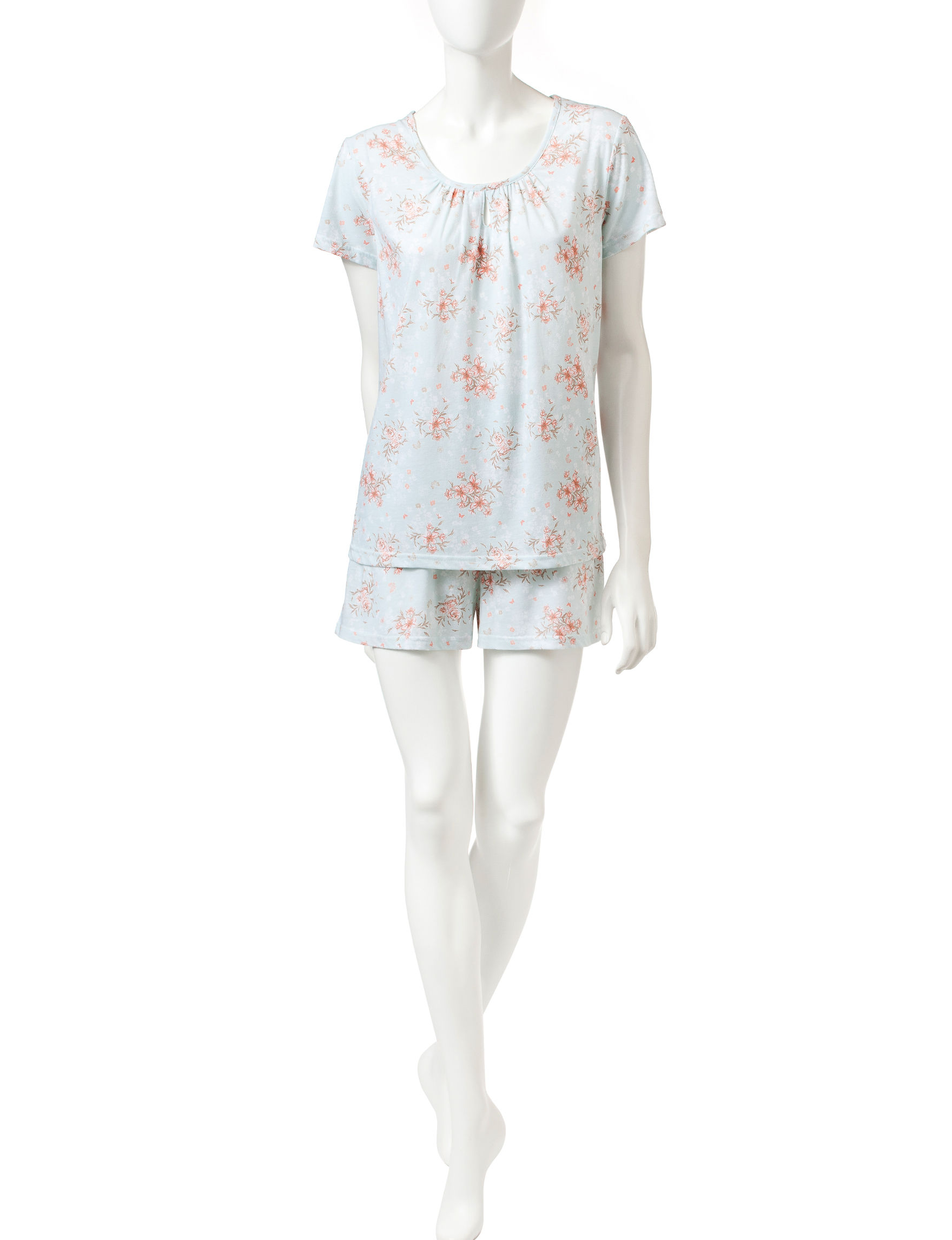 White Orchid Ivory Pajama Sets