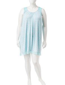 Ellen Tracy Purple Multi Nightgowns & Sleep Shirts