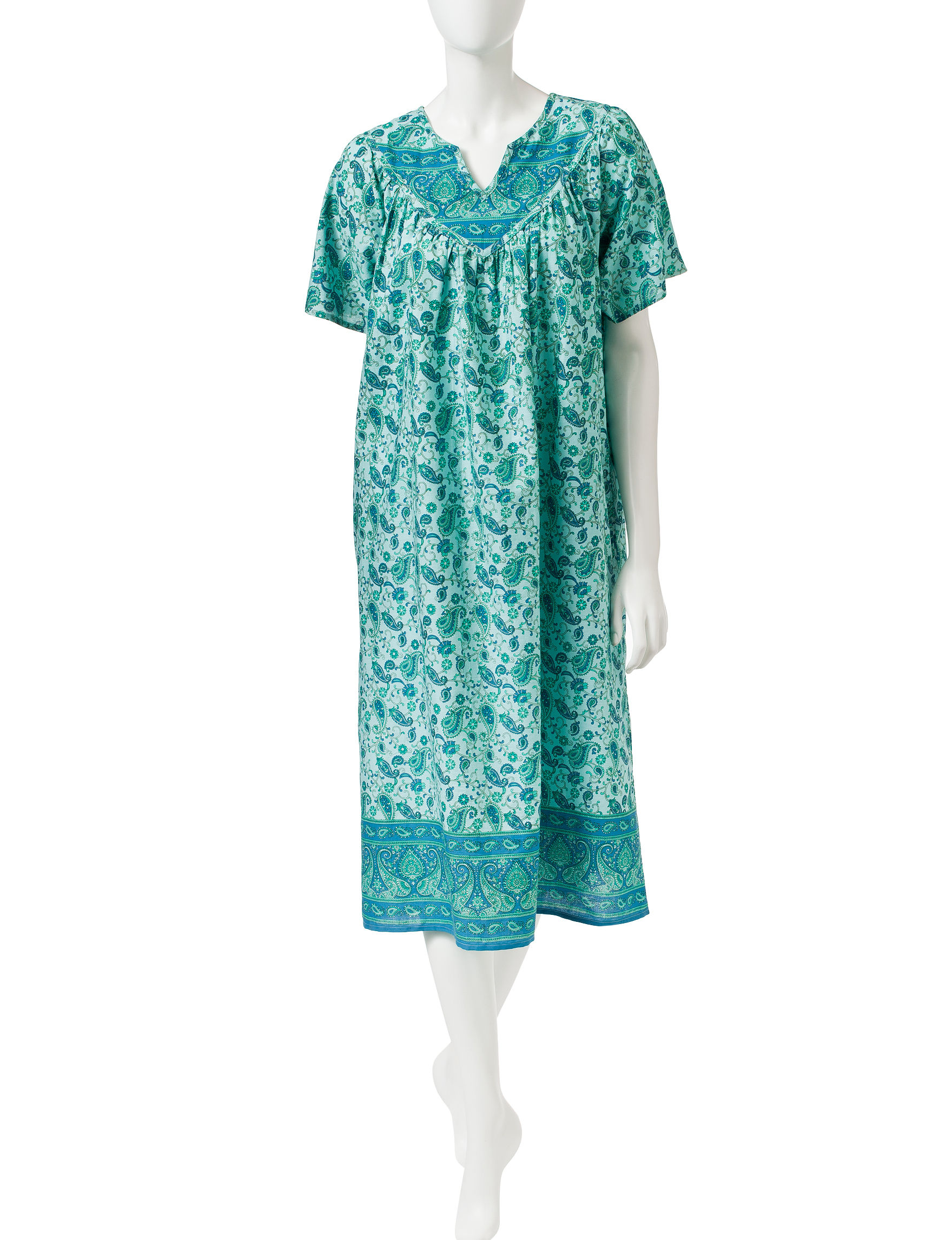 Loungees Green House Dresses