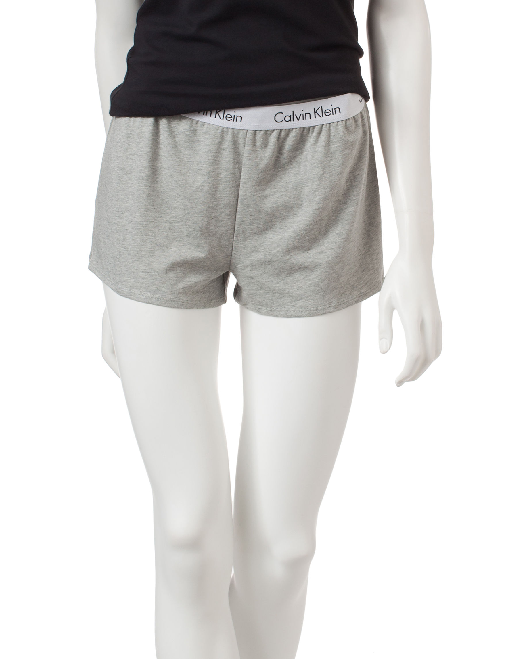 Calvin Klein Heather Grey Pajama Bottoms