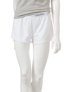 Calvin Klein White Pajama Bottoms