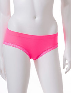 René Rofé Solid Color Seamless Cheeky Panties