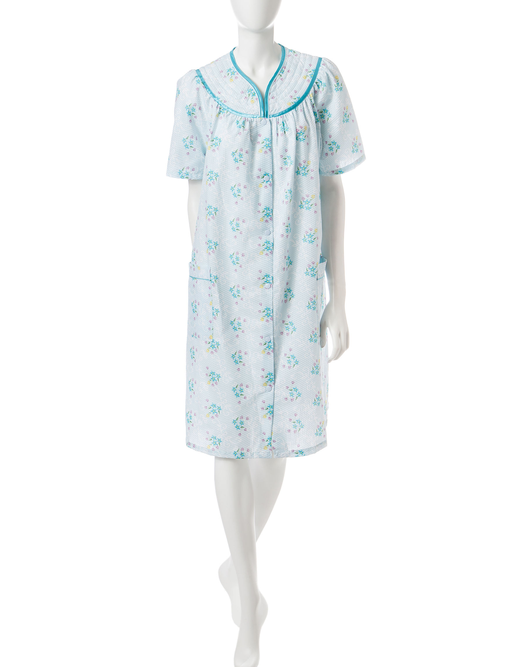 Jasmine Rose Blue Robes, Wraps & Dusters