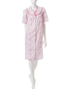 Jasmine Rose Pink Floral Robes, Wraps & Dusters