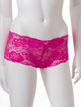 Rene Rofe Allover Floral Lace Boyshort Panties