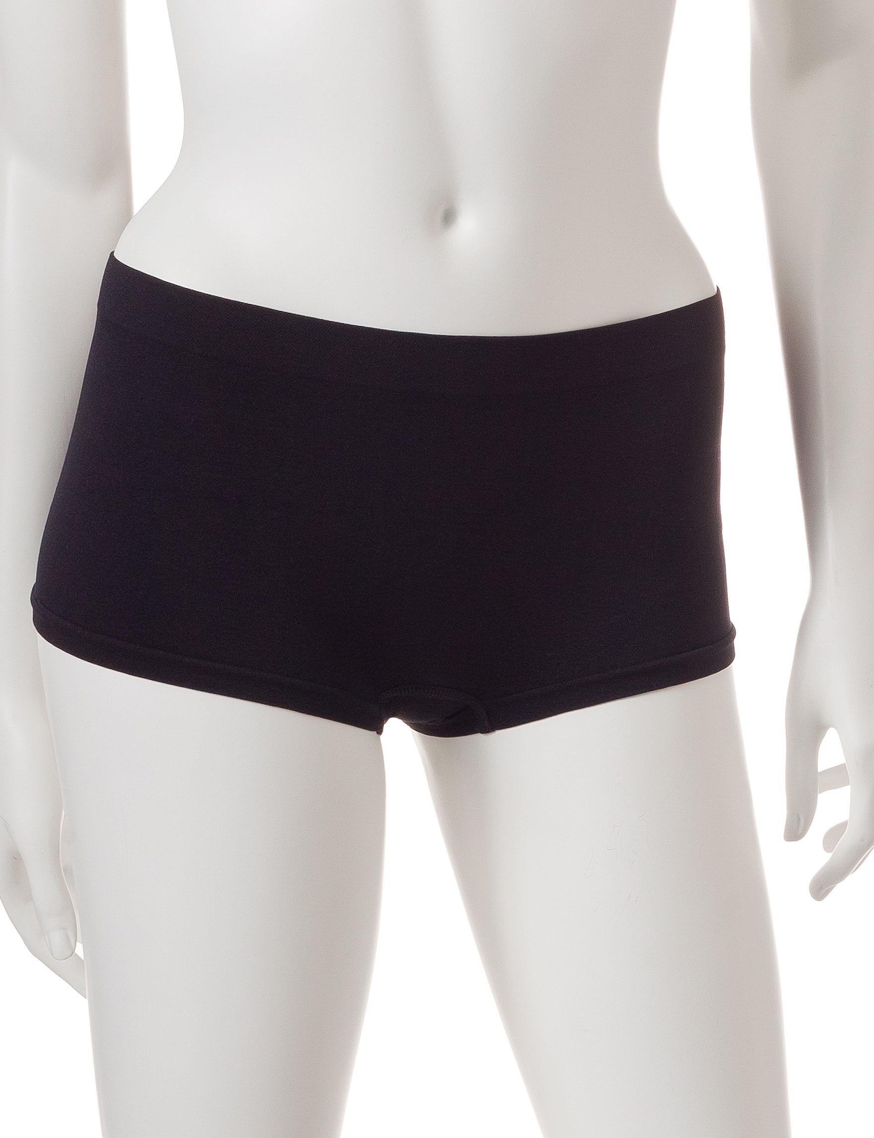 B Intimates Black Panties