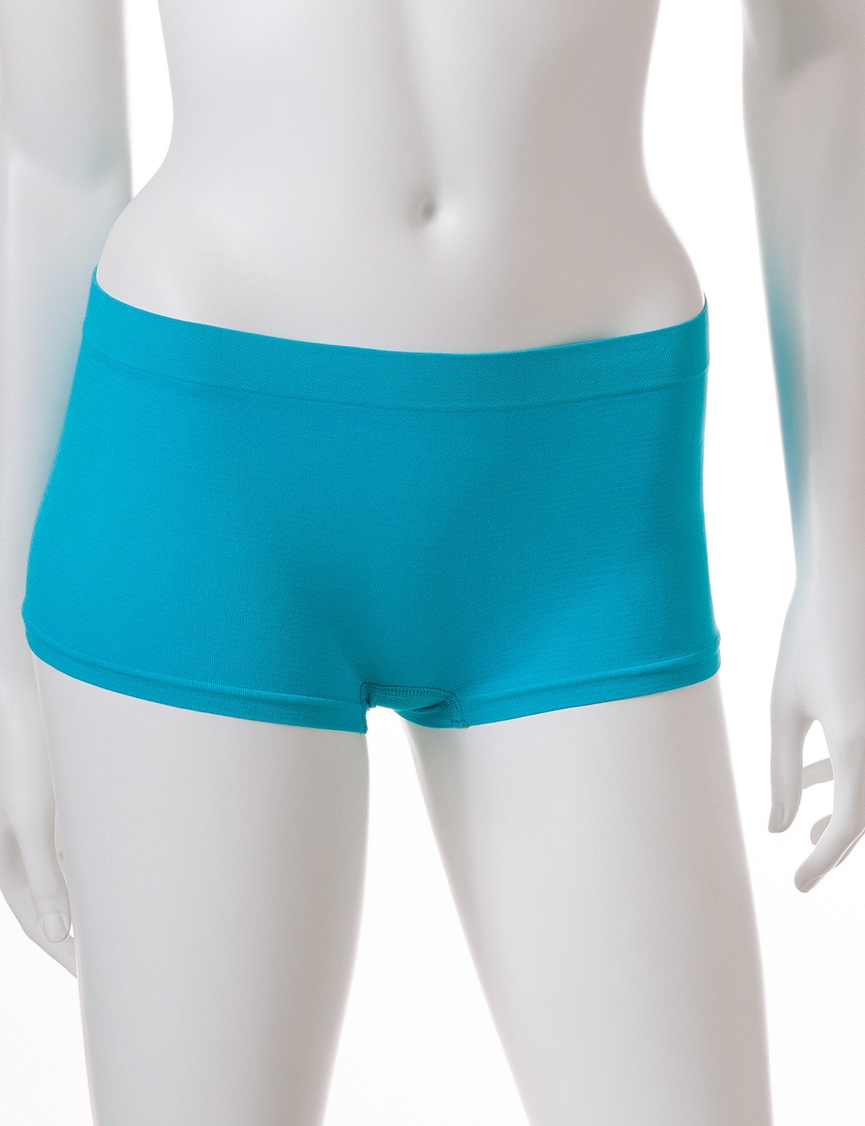 B Intimates Blue Panties Boyshort