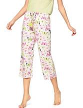 Hue® Butterfly Bouquet Pajama Capris