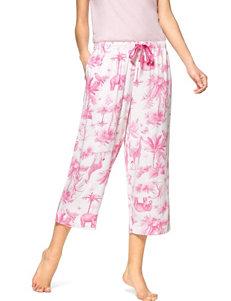 Hue White Pajama Bottoms