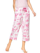 Hue® Jungle Toile Pajama Capris