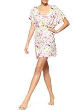 Hue® Plus-size Butterfly Bouquet Caftan Sleepshirt