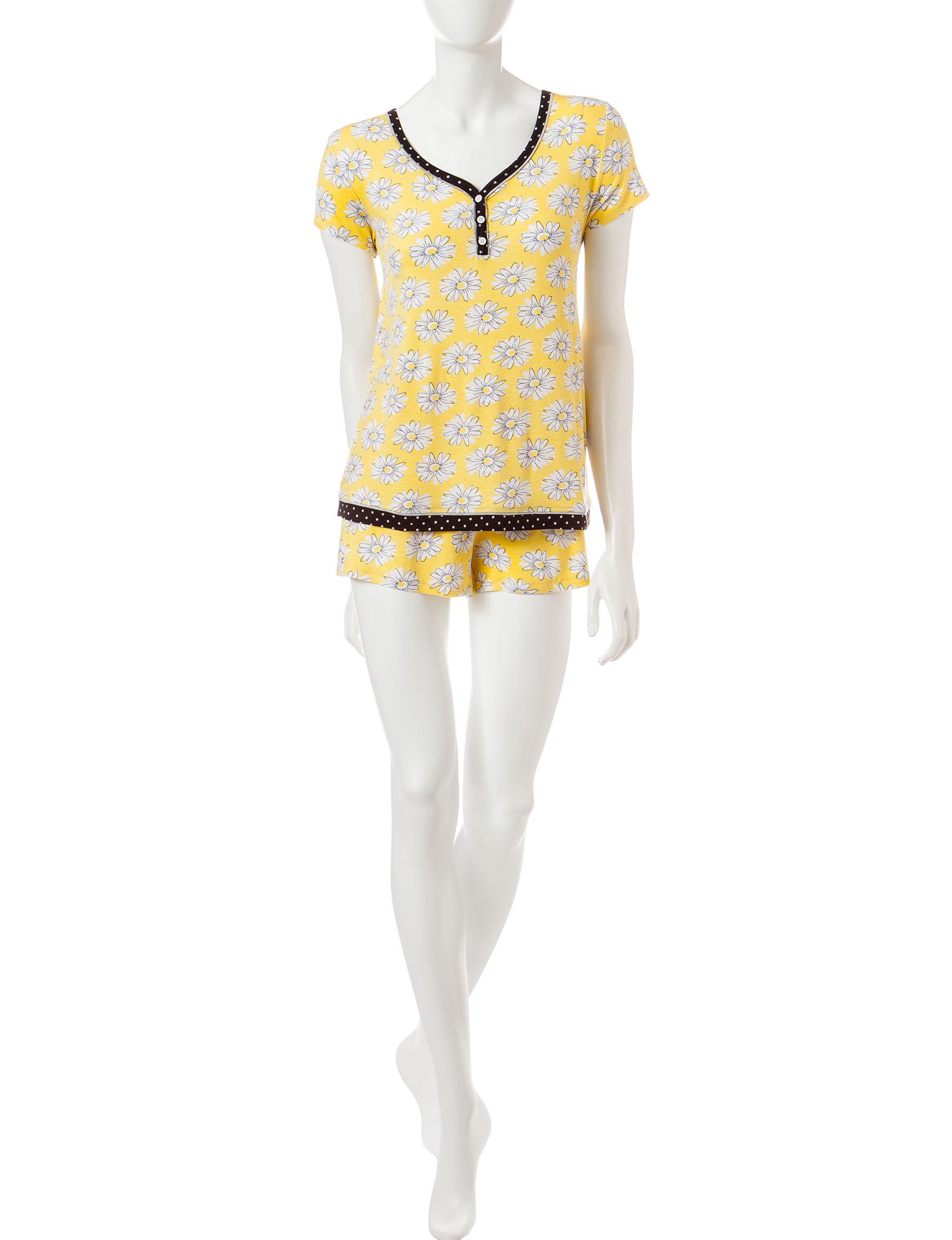 Rene Rofe Pink Multi Pajama Sets
