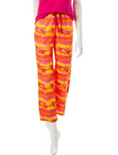 Goodnight Kiss Orange Tie Dye Pajama Pants