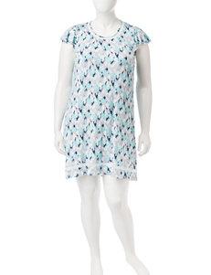 Ellen Tracy Grey Nightgowns & Sleep Shirts