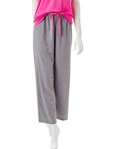 Hue Scribble Heart Pajama Capri Pants