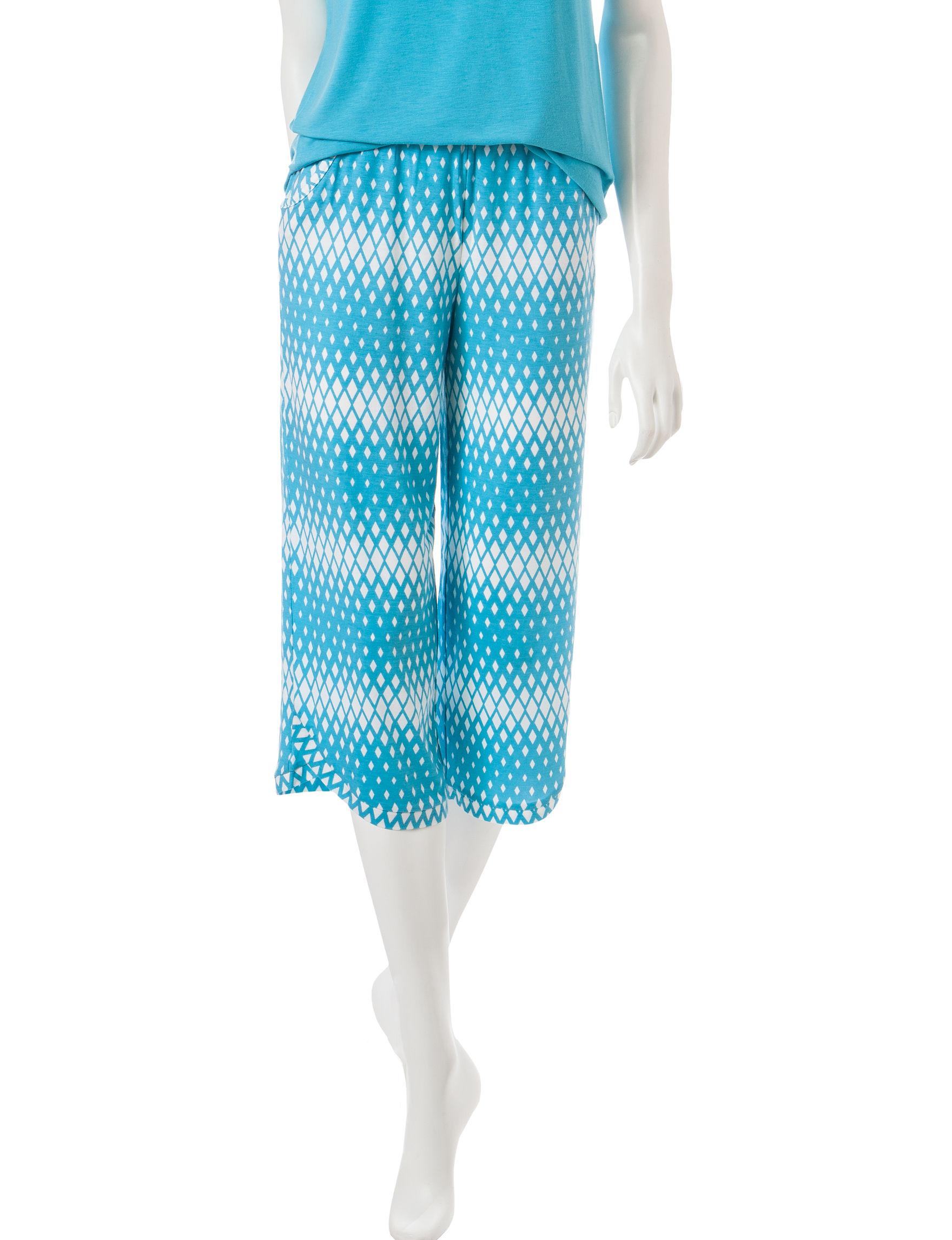 Cool Girl Blue Pajama Bottoms