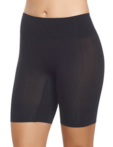 Jockey Black Slips & Shapewear Boyshort Slimming
