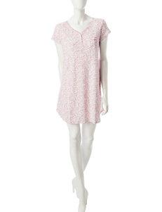 Karen Neuburger Pink Multi Nightgowns & Sleep Shirts