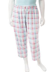 Jockey White / Black Pajama Bottoms