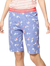 Hue® Pelican Dive Bermuda Sleep Shorts