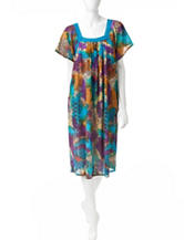 Loungees Medallion Print House Dress
