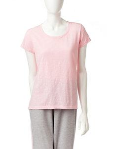 Goodnight Kiss Pink Pajama Tops