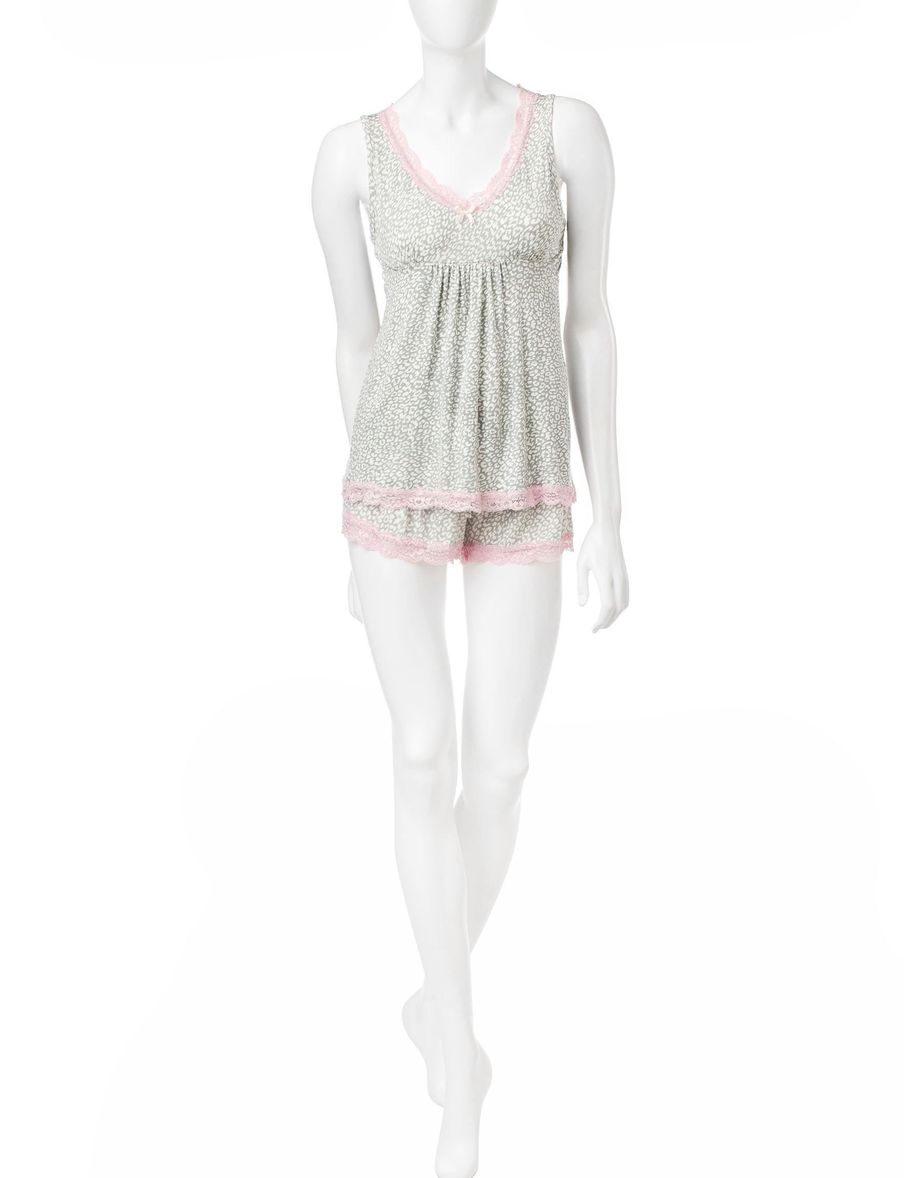 Rene Rofe Pink Pajama Sets