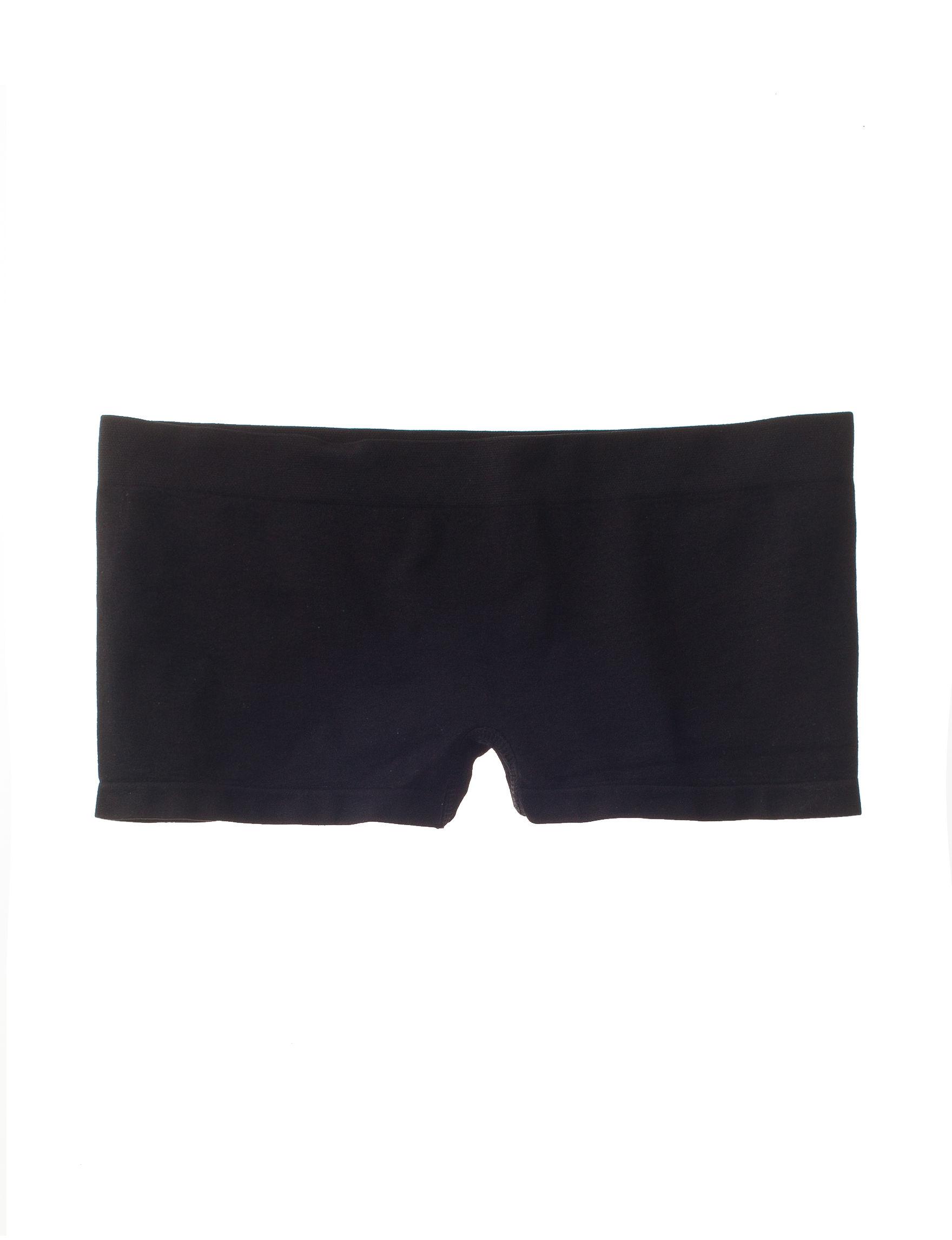 B Intimates Black Panties Boyshort