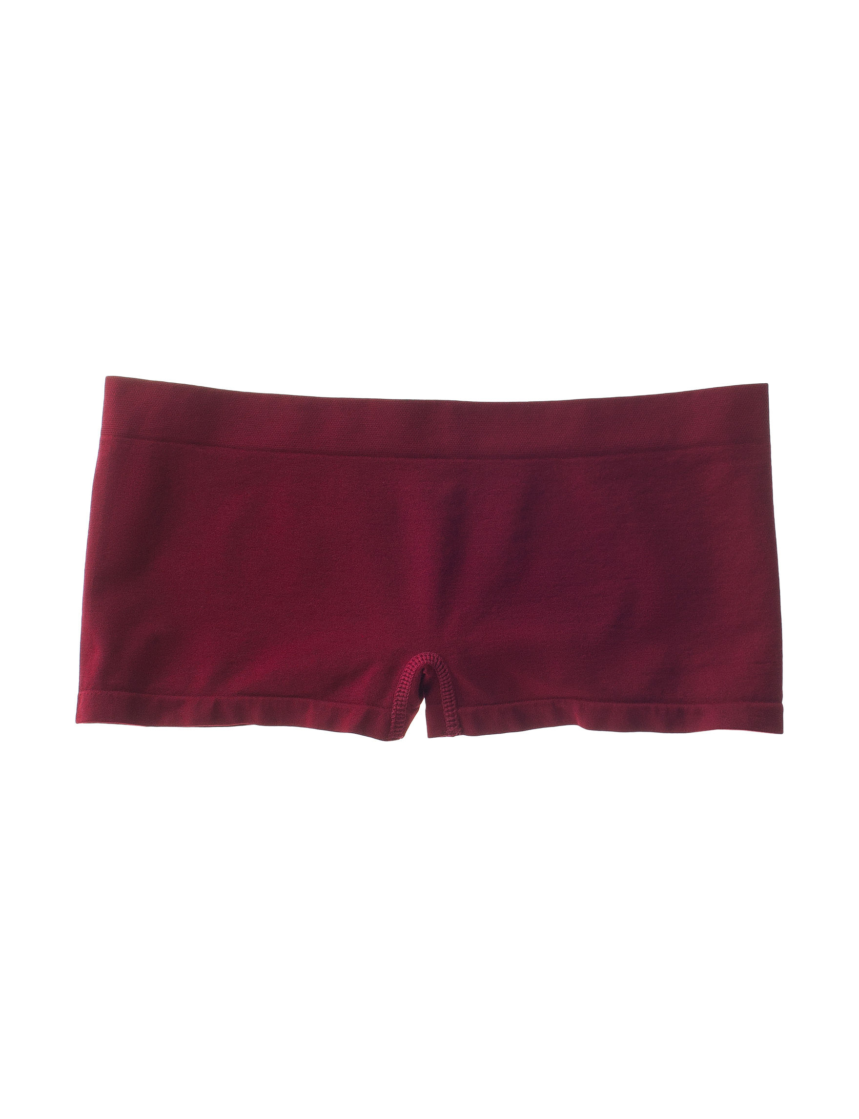 B Intimates Burgundy Panties Boyshort
