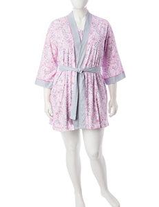 Aria Pink / Blue Nightgowns & Sleep Shirts