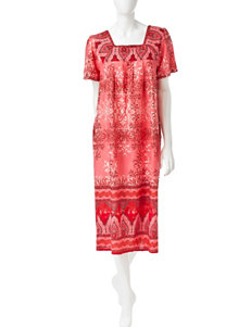 Loungees Assorted Print Woven House Dress