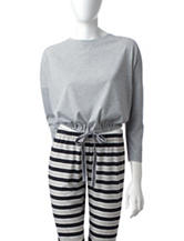 PJ Couture Grey Pajama Top