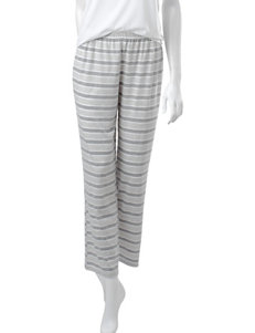 PJ Couture Oatmeal Pajama Bottoms