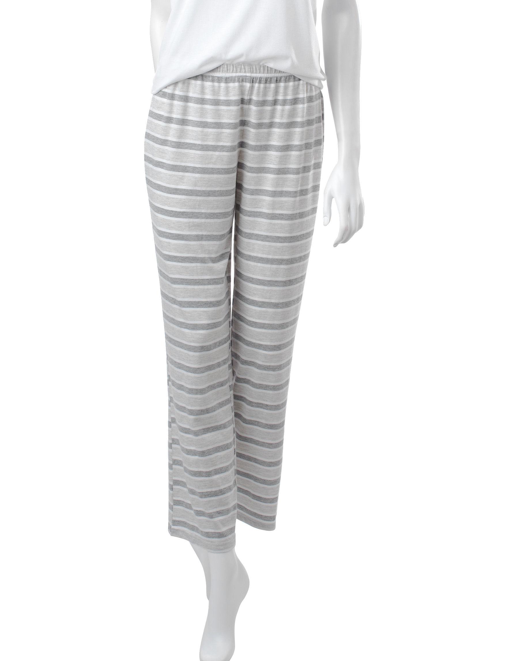 PJ Couture Oatmeal Pajama Bottoms