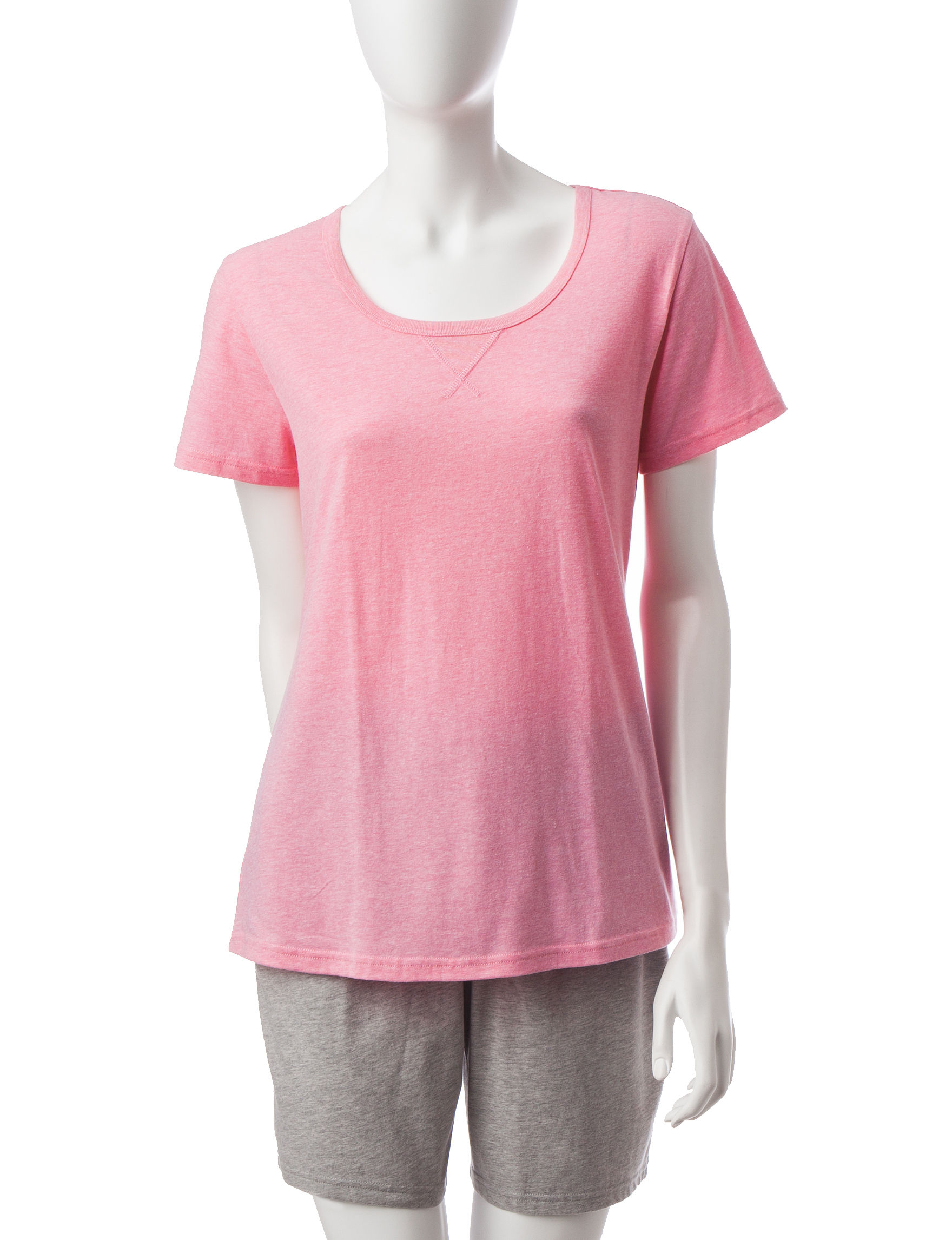 Hanes Medium Pink Pajama Tops