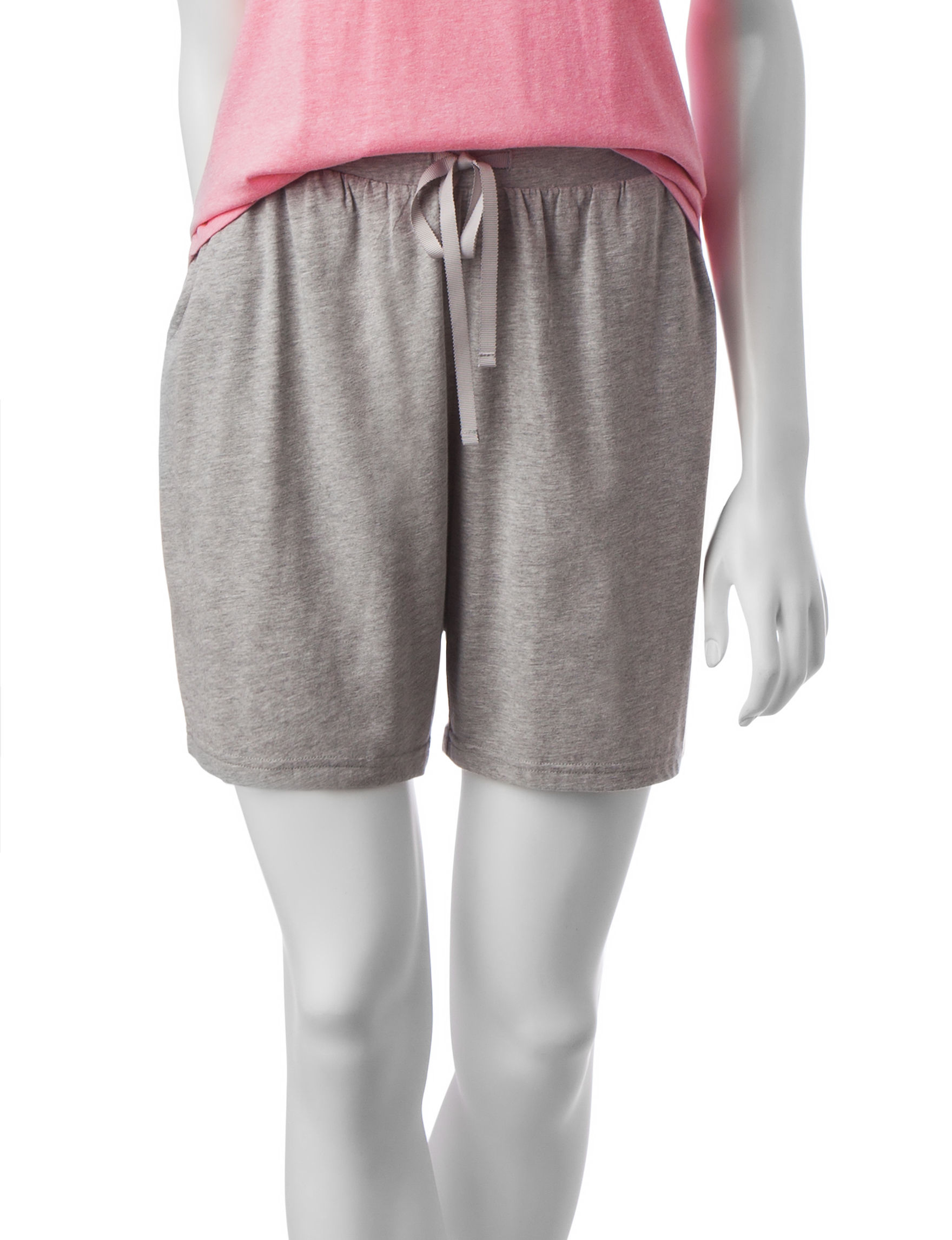 Hanes Grey Pajama Bottoms