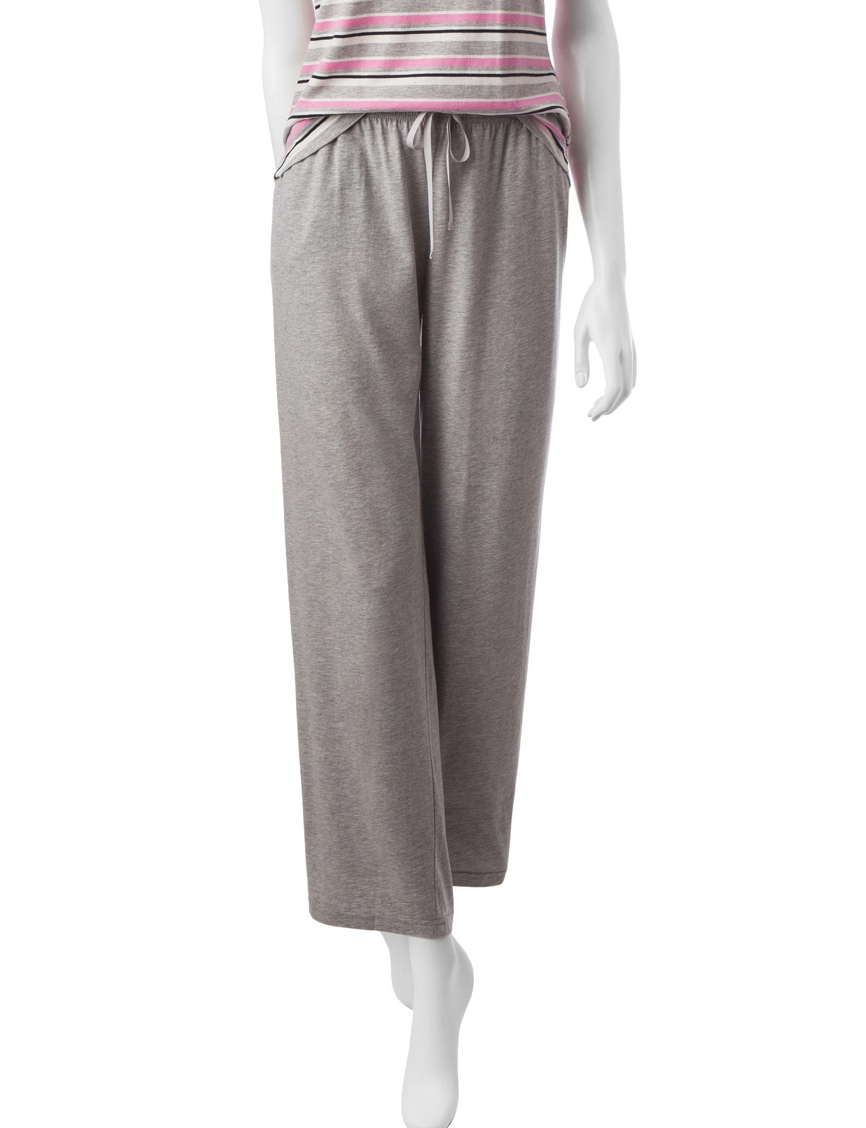 Hanes Grey Pajama Bottoms