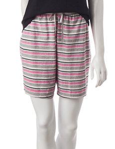 Hanes® Stripe Print Lounge Shorts