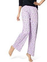 Hue® Lavender Sketch My Dog Pajama Pants