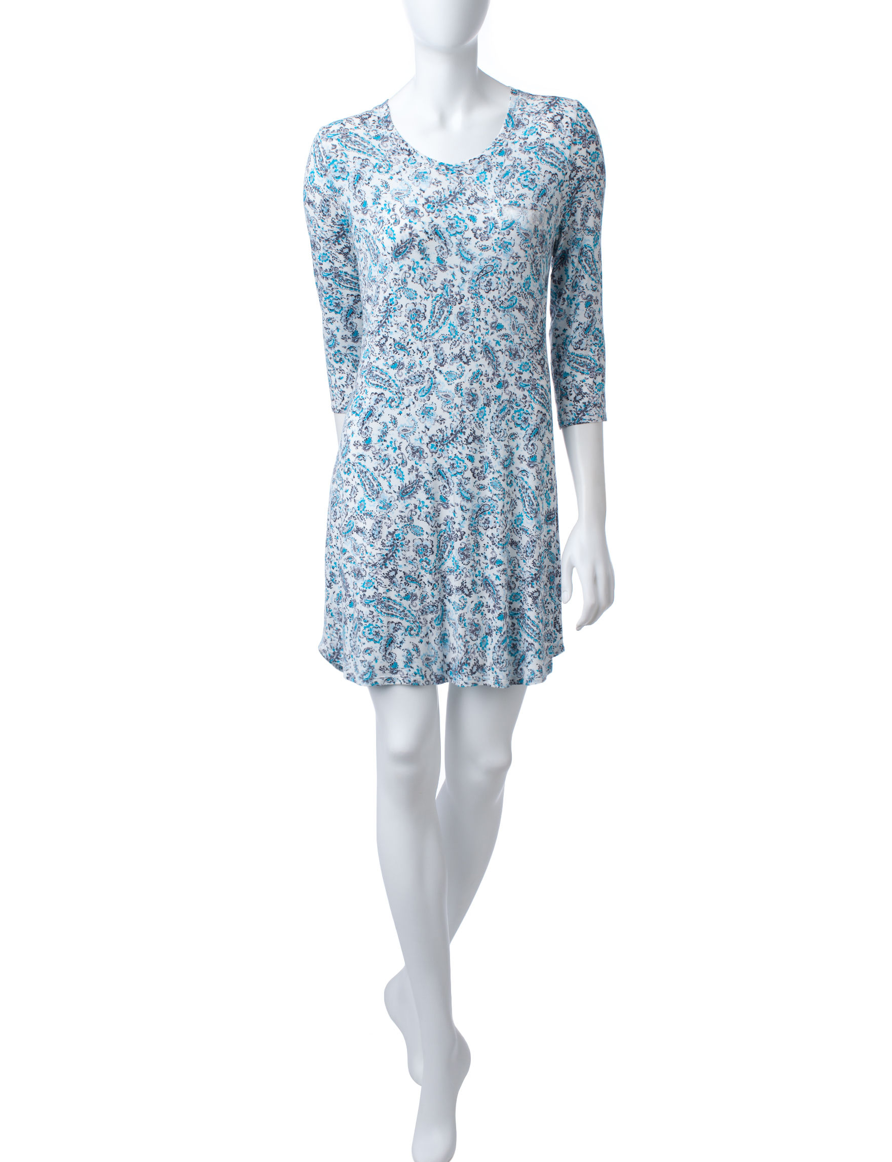 Laura Ashley Blue Paisley
