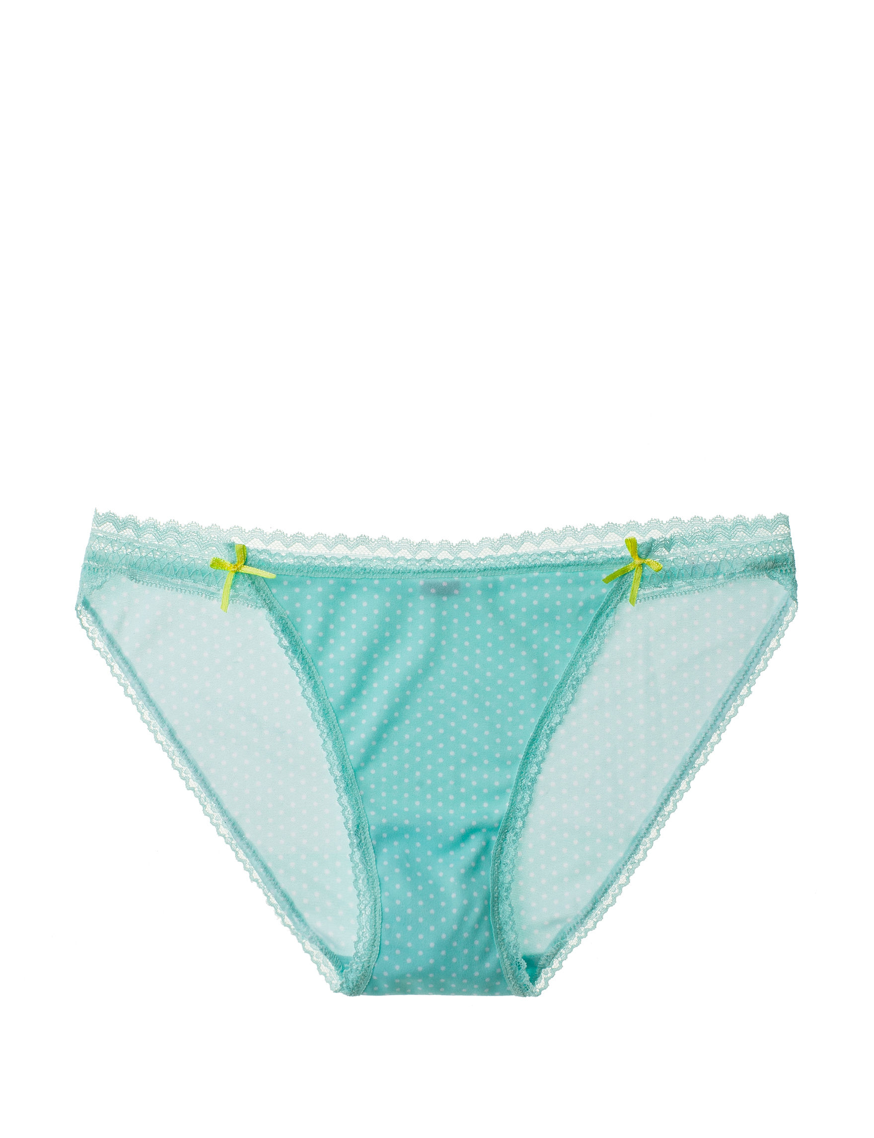 Rene Rofe Pink / White Panties