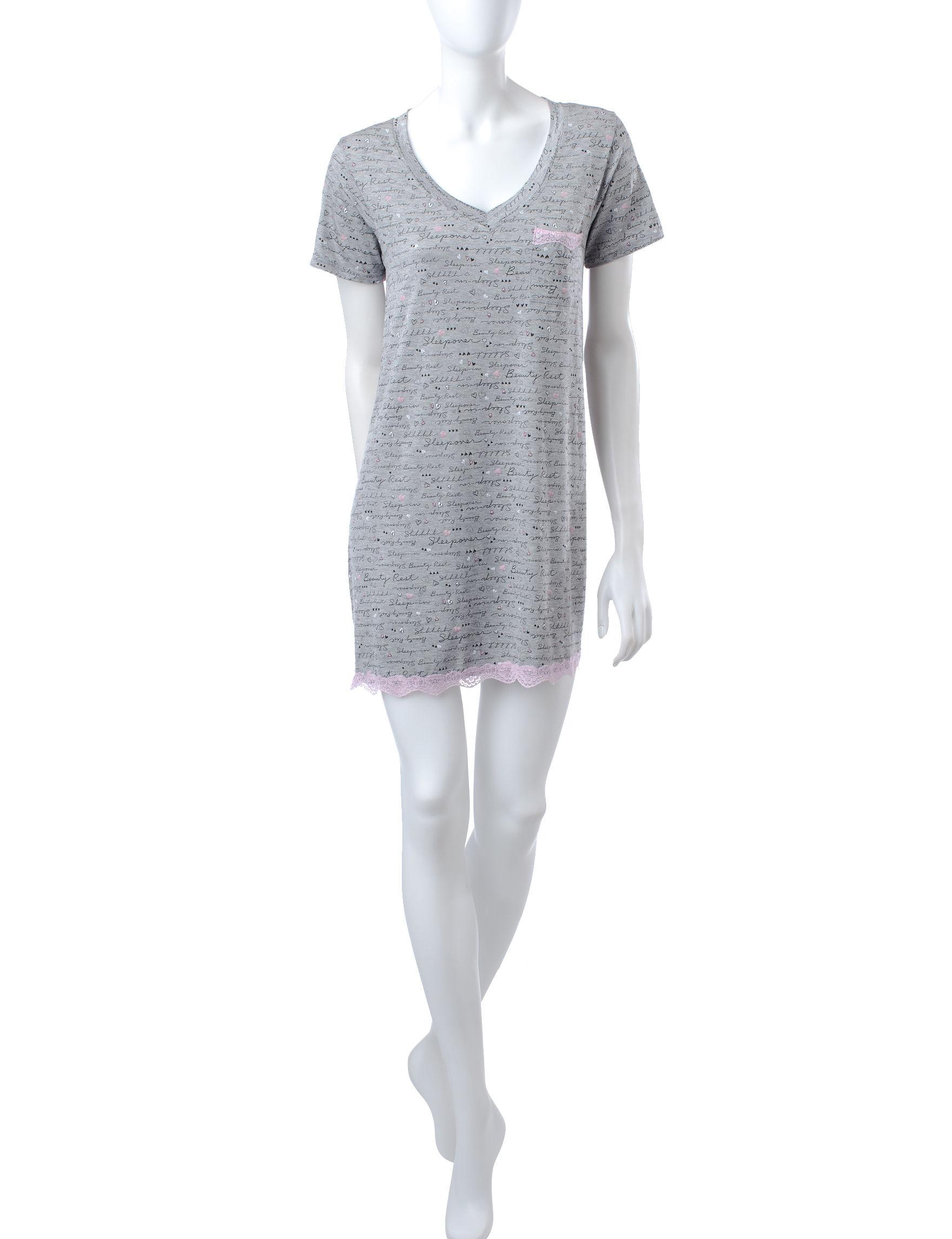 Laura Ashley Grey Nightgowns & Sleep Shirts