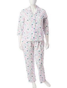 Aria Floral Print Pajama Sets