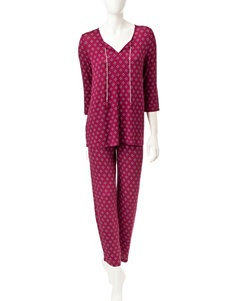 Ellen Tracy Top & Pants Pajamas