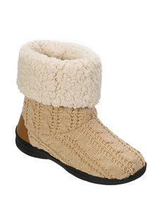 Dearfoam Oatmeal Ankle Boots & Booties