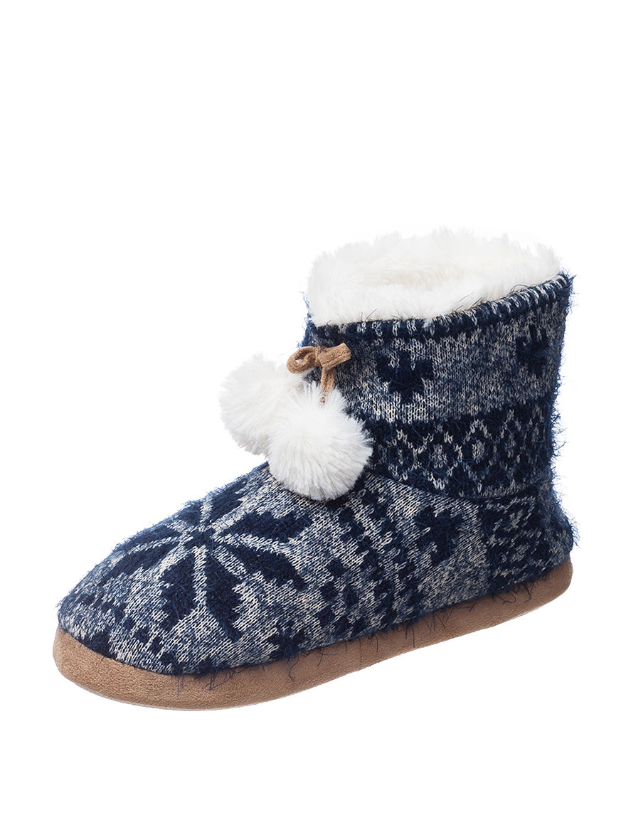 PJ Couture Navy Ankle Boots & Booties
