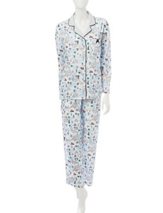 Laura Ashley White Pajama Sets